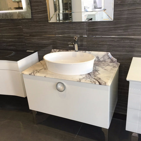 Modern Bathroom Vanities Vaughan designer showroom 20,000sf for bath, kitchen, tiles & lighting