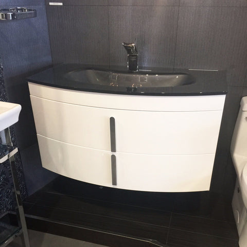 Aquos Bath Vanities Lara White