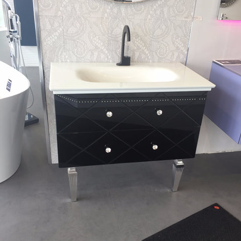 Artelinea Bath Vanity Decor Seppia