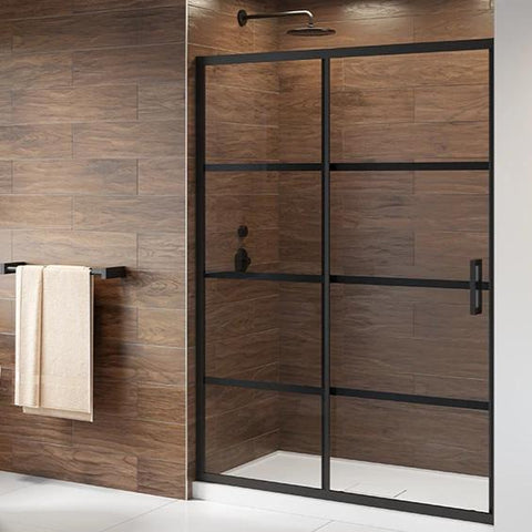 Fleurco Latitude Shower Door In-Line