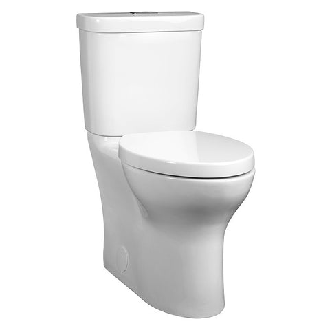 DXV by American Standard Lyndon Two-Piece Elongated Dual Flush Toilet White