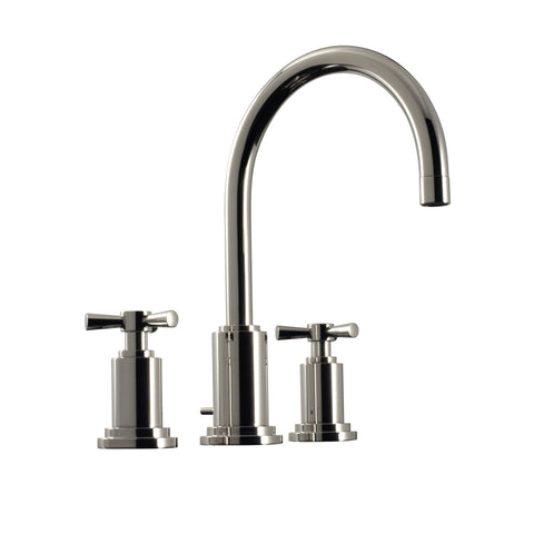 Santec Widespread Bathroom Faucet Modena II Cross Handle
