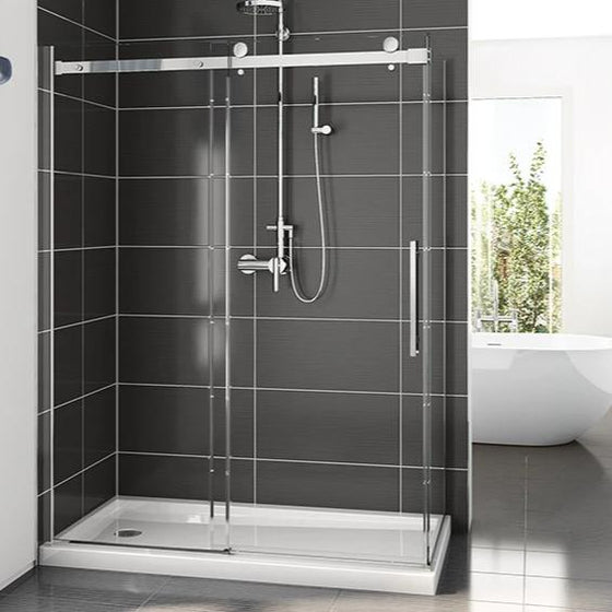 Fleurco Novara Plus Shower Door Two-Sided CRP