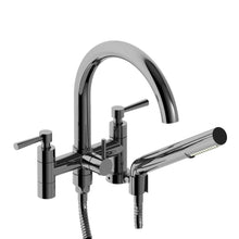 Riobel Tub Filler Pallace Wall Mount with Hand Shower Lever Handle