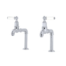 Perrin & Rowe Mayan deck mounted taps with lever handles