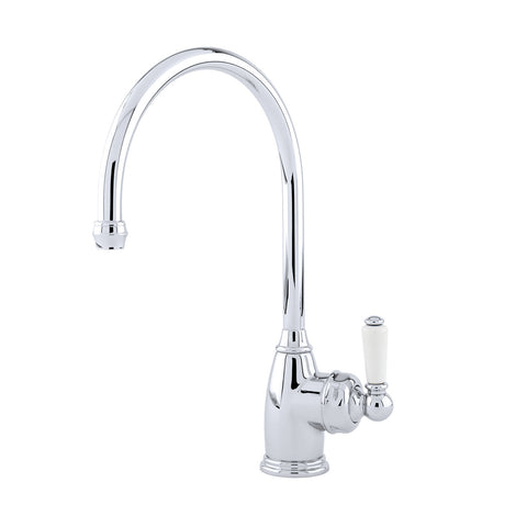 Perrin & Rowe Parthian sink mixer with single lever handle