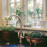Perrin & Rowe Phoenician sink mixer with lever handles