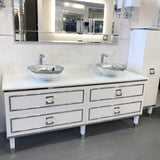 Oasis Bath Vanity Lutetia Double Sink