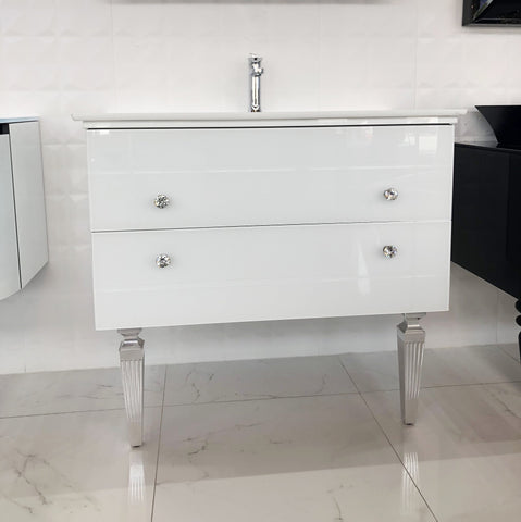 Artelinea Bath Vanity Decor Blanco