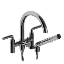 Riobel Tub Filler Riu Wall Mount with Hand Shower