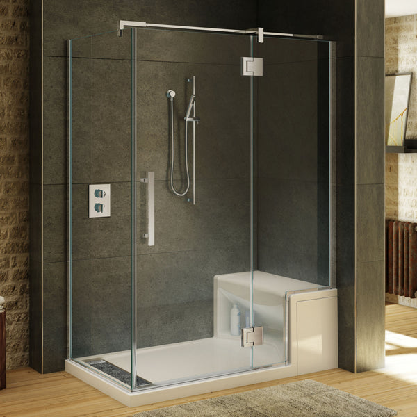 Fleurco Shower Door Titan Hyperion 2 Sided Canaroma Bath