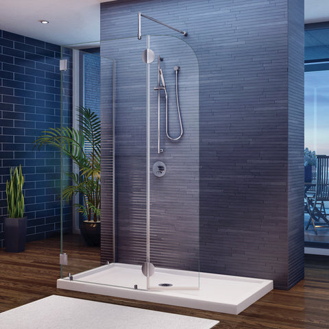 Fleurco Evolution 4' and 5' Walk-In Shower System
