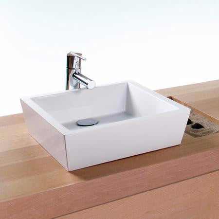 Wetstyle Above Counter Bathroom Sink CUBE