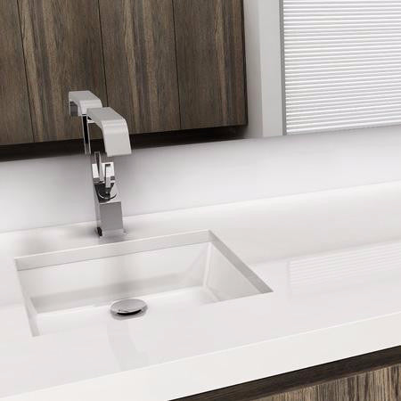 Wetstyle Undermount Bathroom Sink CUBE