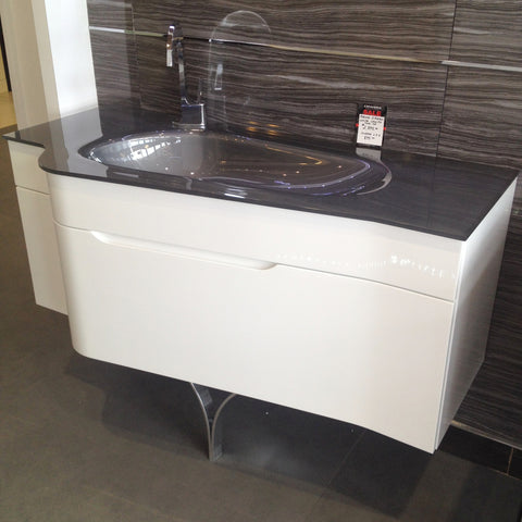 Aquos Bathroom Vanities Virgola White