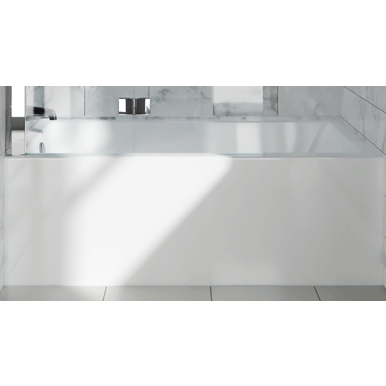 Neptune Bathtub Albana 3260 with skirt and flange