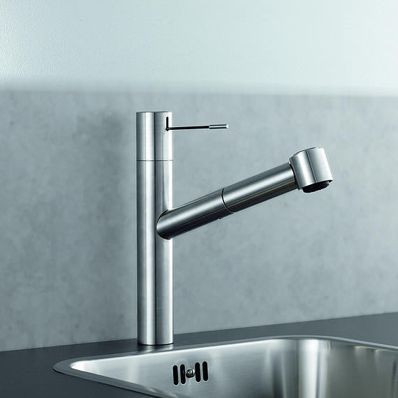 kwc kitchen faucet ono canaroma bath amp tile kwc ono high rise single lever mixer w covered pull