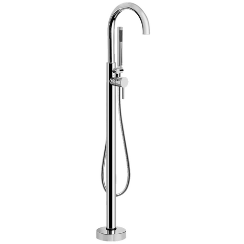 GRAFF M.E. 25 Floor Mount Tub Filler polished chrome