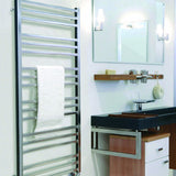 ICO Tuzio Towel Warmer Avento Brushed Nickel