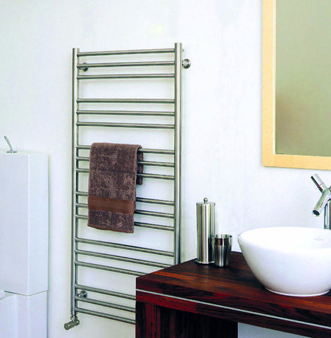 ICO Tuzio Towel Warmer Sorano Brushed Nickel