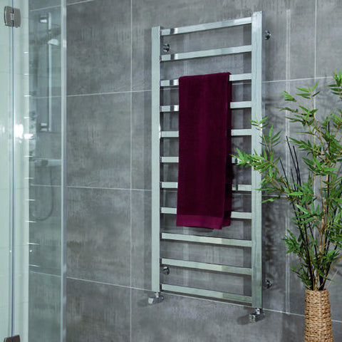 ICO Tuzio Towel Warmer Milano Chrome