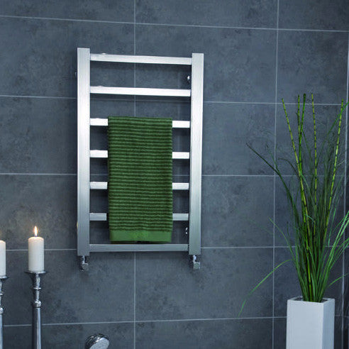 ICO Tuzio Towel Warmer Milano Brushed Nickel