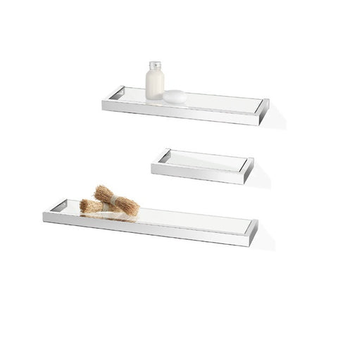 ICO Bathroom Shelves Linea Chrome