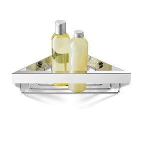ICO Corner Shower Basket Linea Chrome