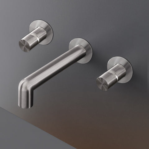 CEA Bathroom Faucet Cartesio Wall Mounted Double Taps