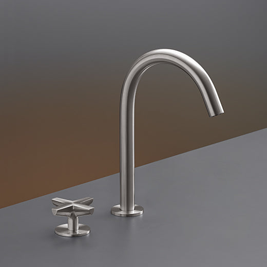 CEA Two-hole Bathroom Faucet Cross Deck Mounted