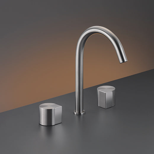 CEA Three-hole Bathroom Faucet Duet Deck Mounted