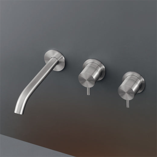 CEA Bathroom Faucet Milo360 Wall Mounted Double Taps