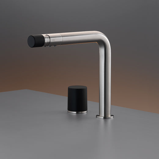 CEA Two-hole Bathroom Faucet Up & Down Deck Mounted