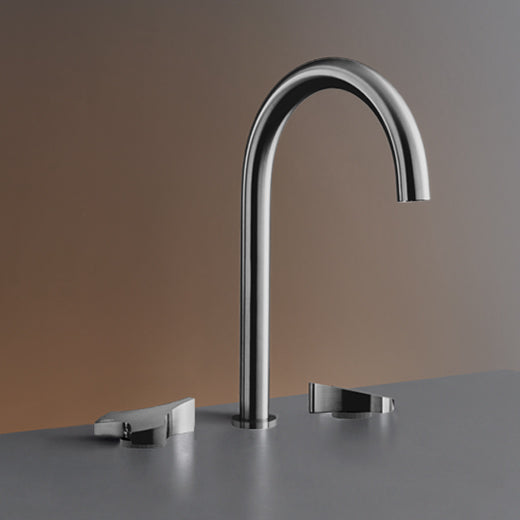 CEA Three-hole Bathroom Faucet Ziqq Deck Mounted