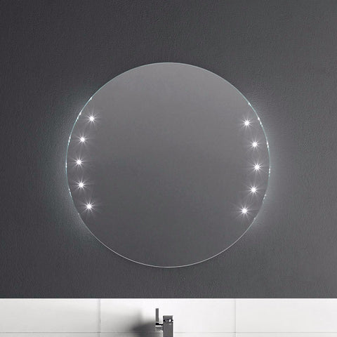 Artelinea Bathroom Mirror Argento Oval