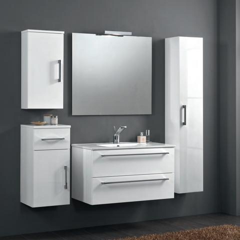 Onsen Falegnameria Adriatica Maranello Single Sink Bath Vanity Collection