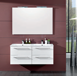 Onsen Falegnameria Adriatica Bath Vanity Maranello Double Sink Collection