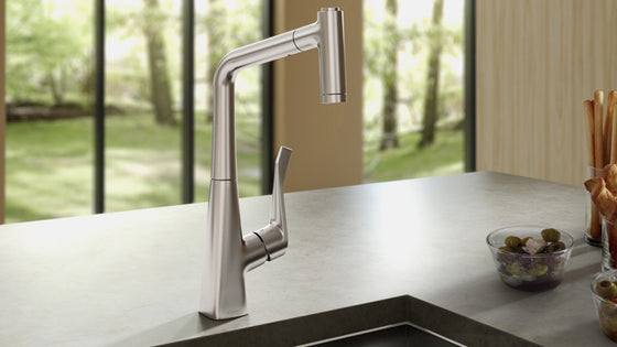 hansgrohe kitchen faucet on sale