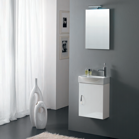 Onsen Falegnameria Adriatica Mini42 Single Sink Bath Vanity Collection
