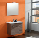 Onsen Falegnameria Adriatica Nora Single Sink Bath Vanity Collection