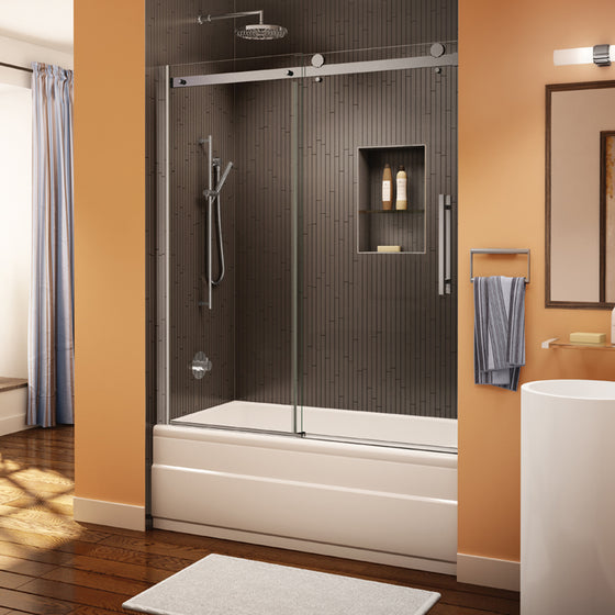 Fleurco Novara Tub Enclosure Door and Panel