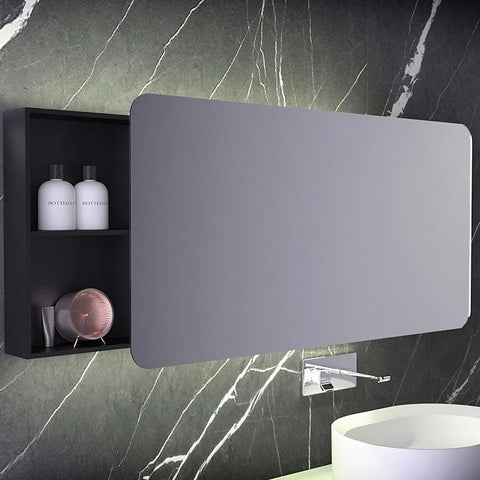 Knief Bathroom Mirror with storage