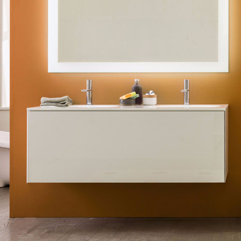 Artelinea Bathroom Vanity Vero Bianco Double Sink