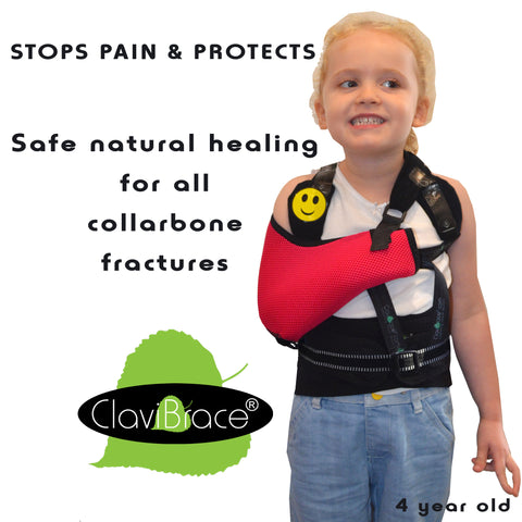 CLAVIBRACE Broken Collarbone CHILD Brace by ClaviBrace® (PATENTED)