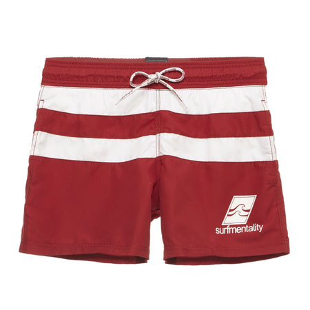 American Flag Swim Trunks