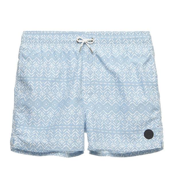 Baja Print Beach Shorts