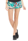 Tropical Print Shorts