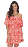 Tropical Sundance Off The Shoulder Dress