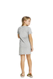 Walking Alone Short Sleeve T-Shirt Dress