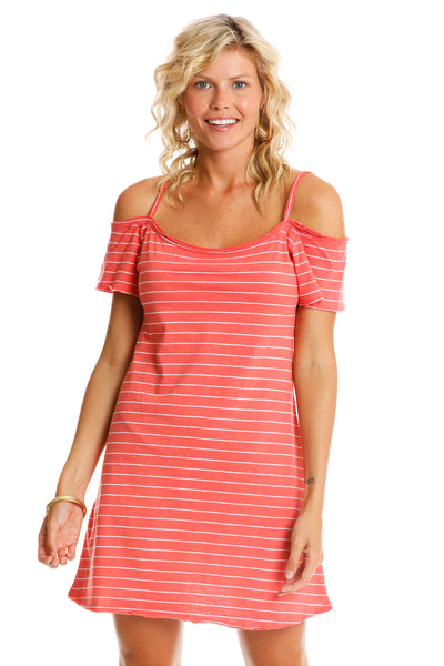 Cutty Heart Strappy Dress